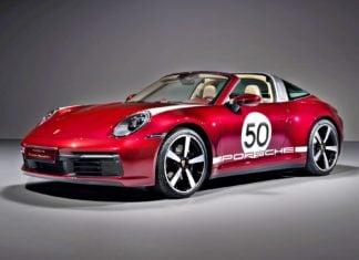 Porsche 911 Targa 4S Heritage Design Edition. Klasyka na nowo