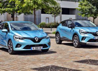 Hybrydowe Renault Clio E-Tech i Captur E-Tech Plug-In wycenione