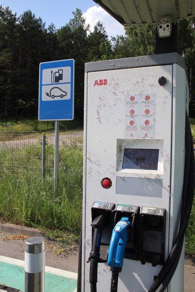 Ładowarka CCS na Litwie