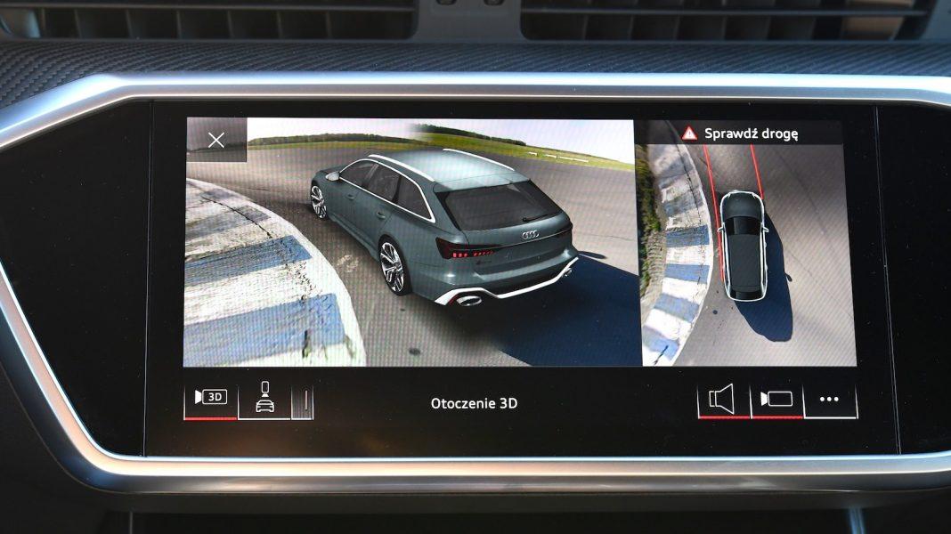 Audi RS 6 Avant – kamery