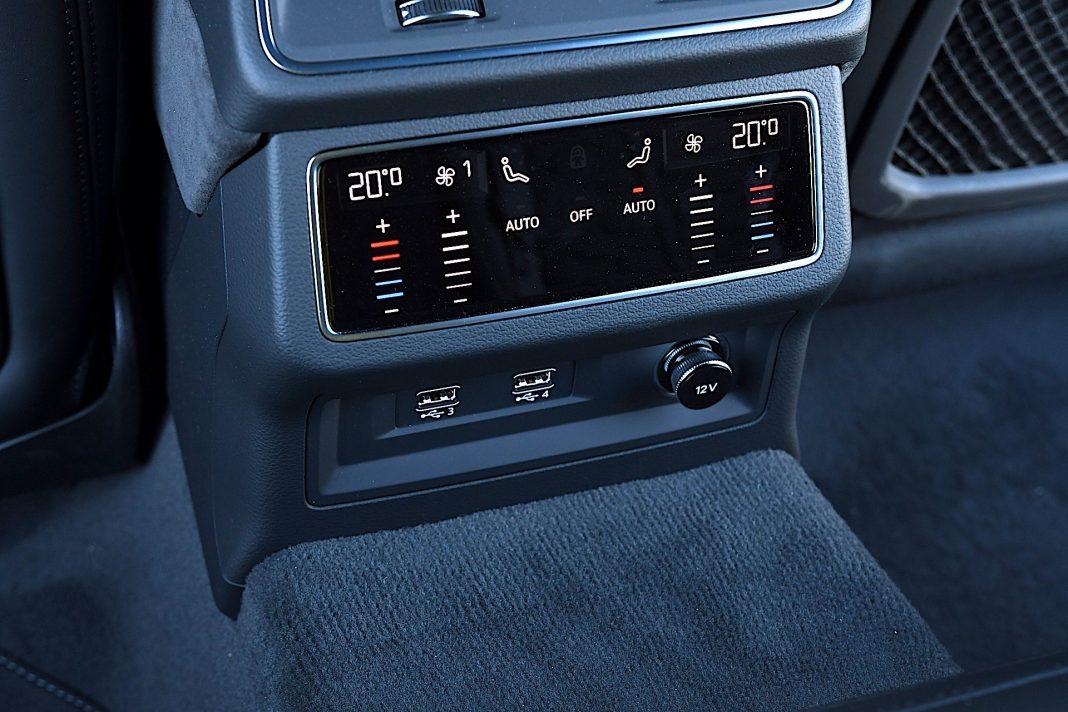 Audi RS 6 Avant – klimatyzacja
