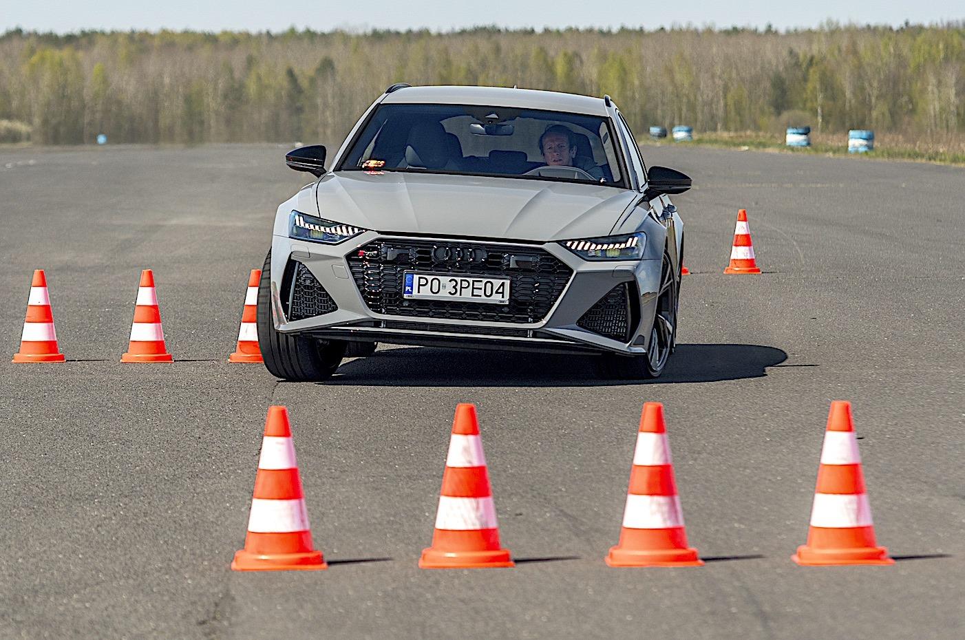Audi RS 6 Avant – szykana