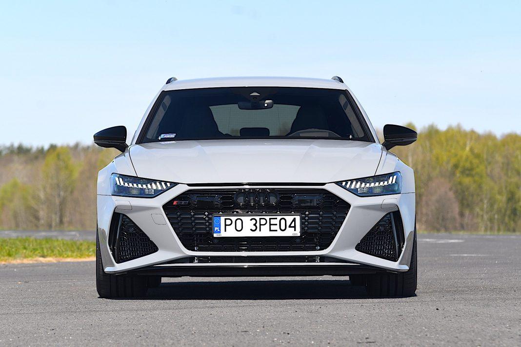 Audi RS 6 Avant – przód