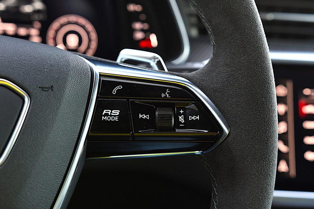 Audi RS 6 Avant – przyciski RS
