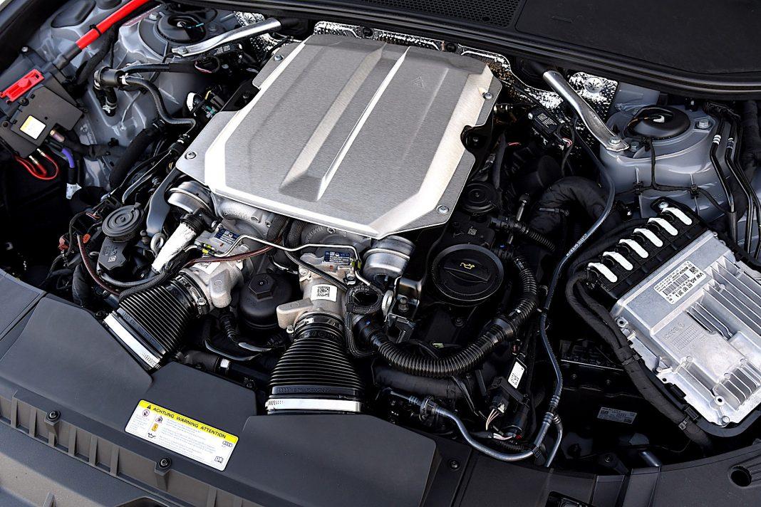 Audi RS 6 Avant – silnik
