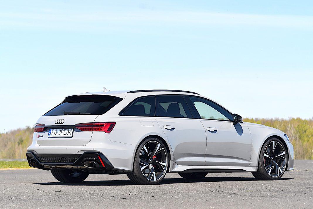 Audi RS 6 Avant – tył