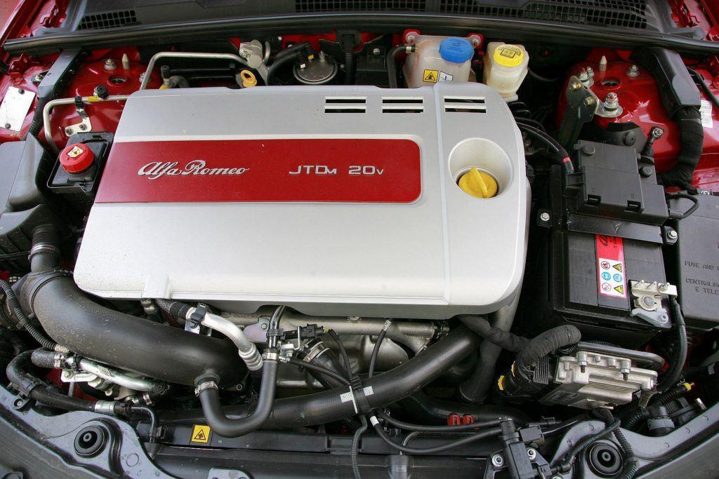 ALFA ROMEO 159 Ti 2.4JTDm 20V 210KM 6MT SB2623A 03-2008