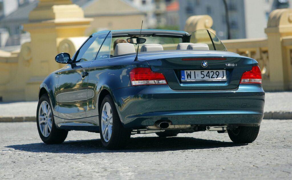 BMW 120i E88 Cabriolet 2.0 170KM 6MT WI5429J 08-2008
