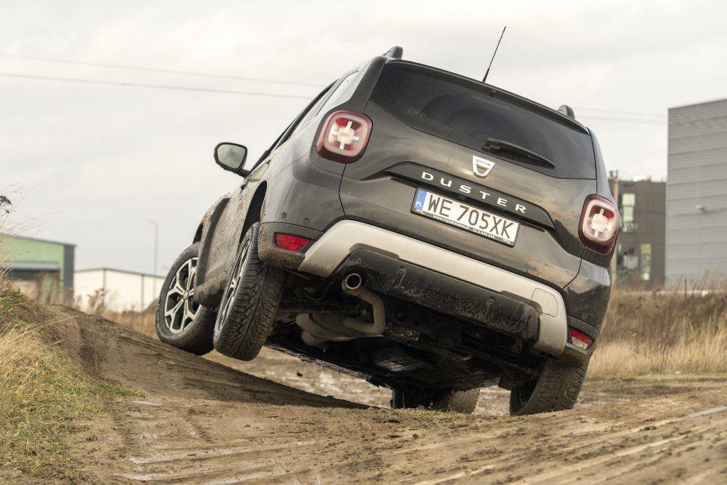 Dacia Duster w terenie