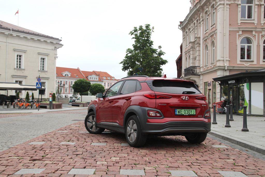 Hyundai Kona w Wilnie 1