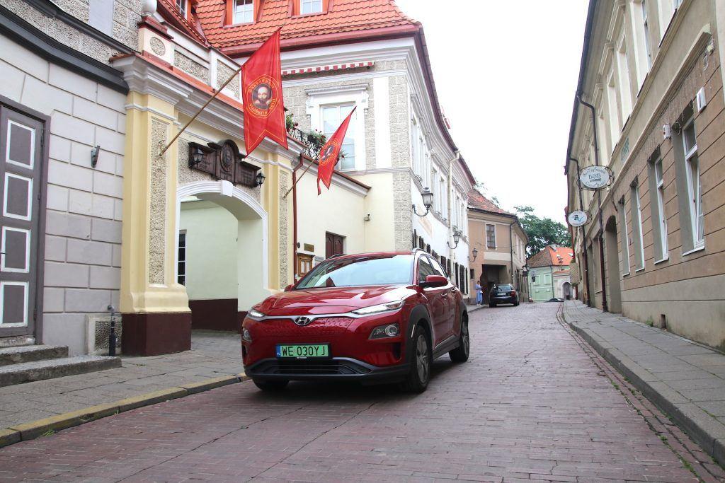Hyundai Kona w Wilnie