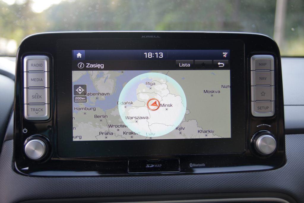 Hyundai Kona - zasięg realny