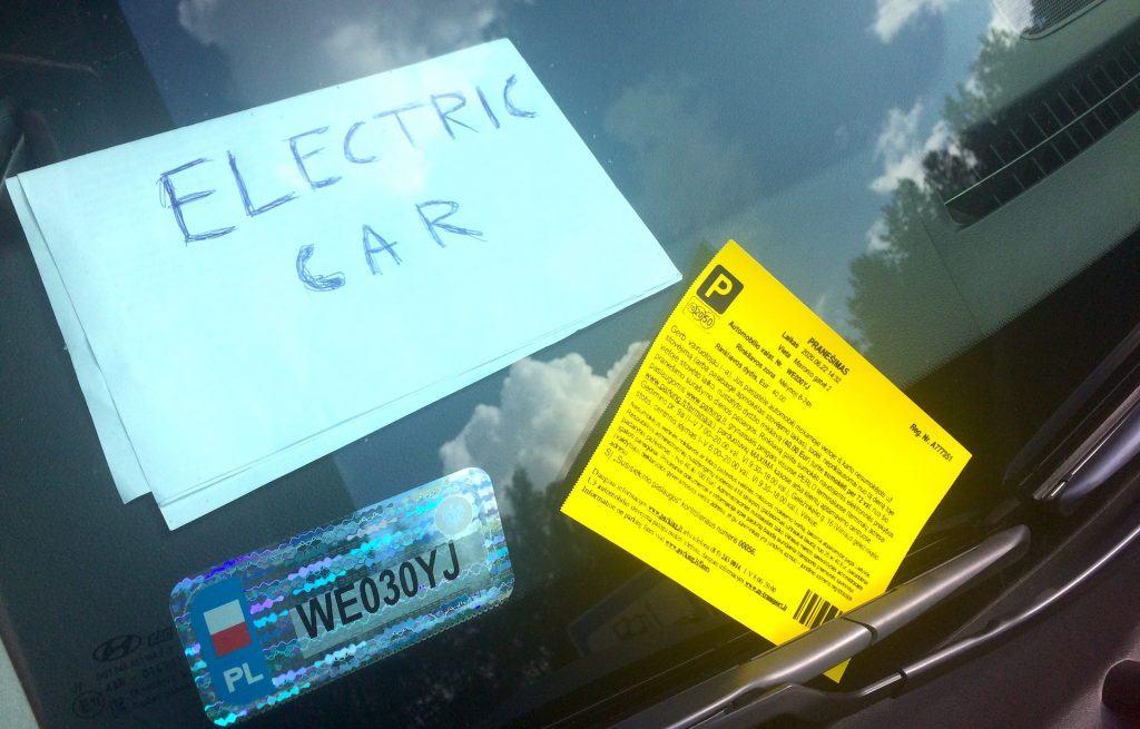 Mandat za parkowanie