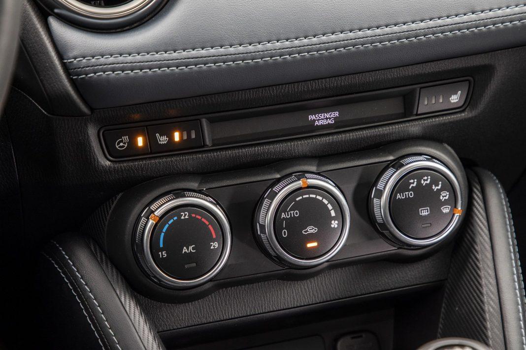 Mazda 2 1.5 Skyactiv-G M Hybrid test 2020 - nawiewy, klimatyzacja