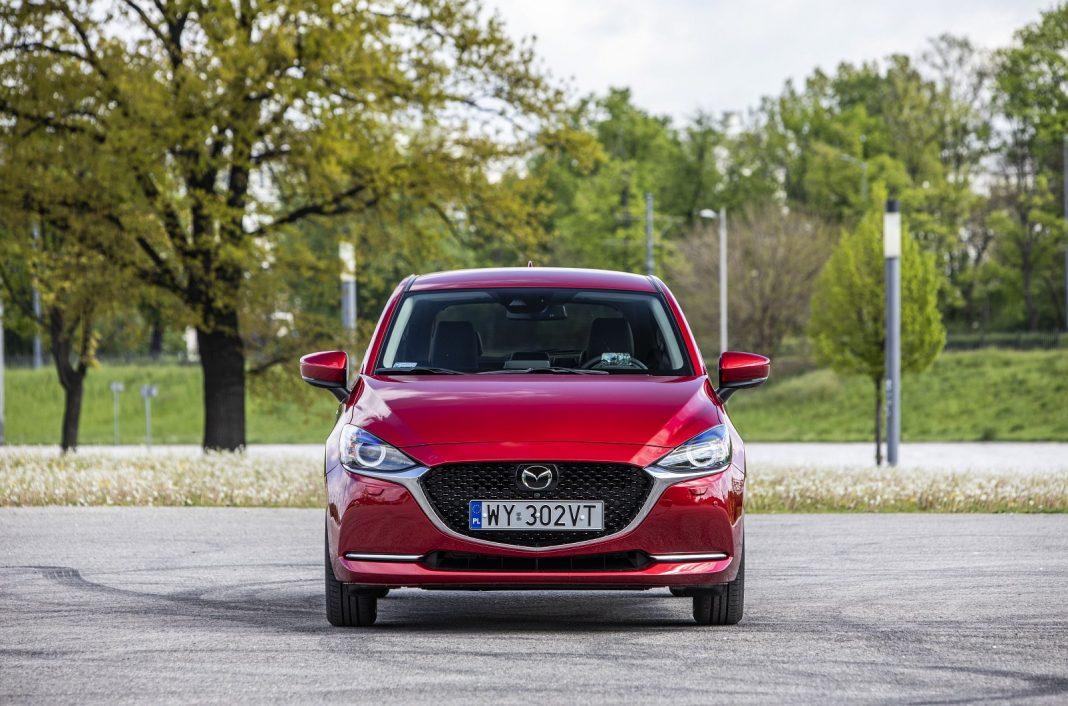 Mazda 2 1.5 Skyactiv-G M Hybrid test 2020 - przód