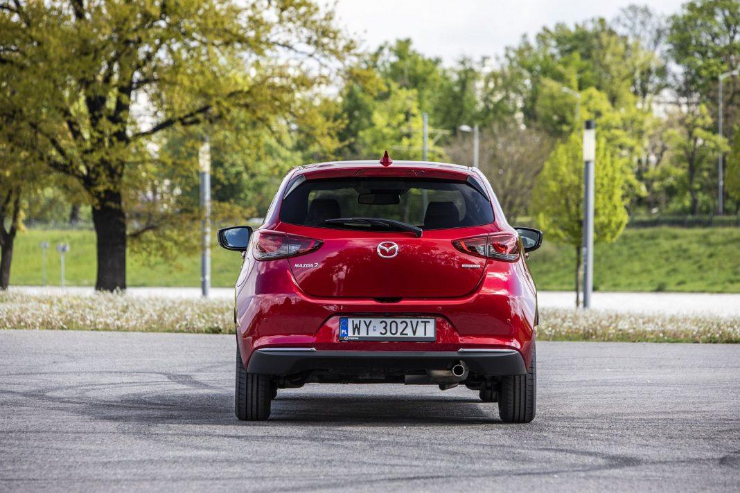 Mazda 2 1.5 Skyactiv-G M Hybrid test 2020 - tył