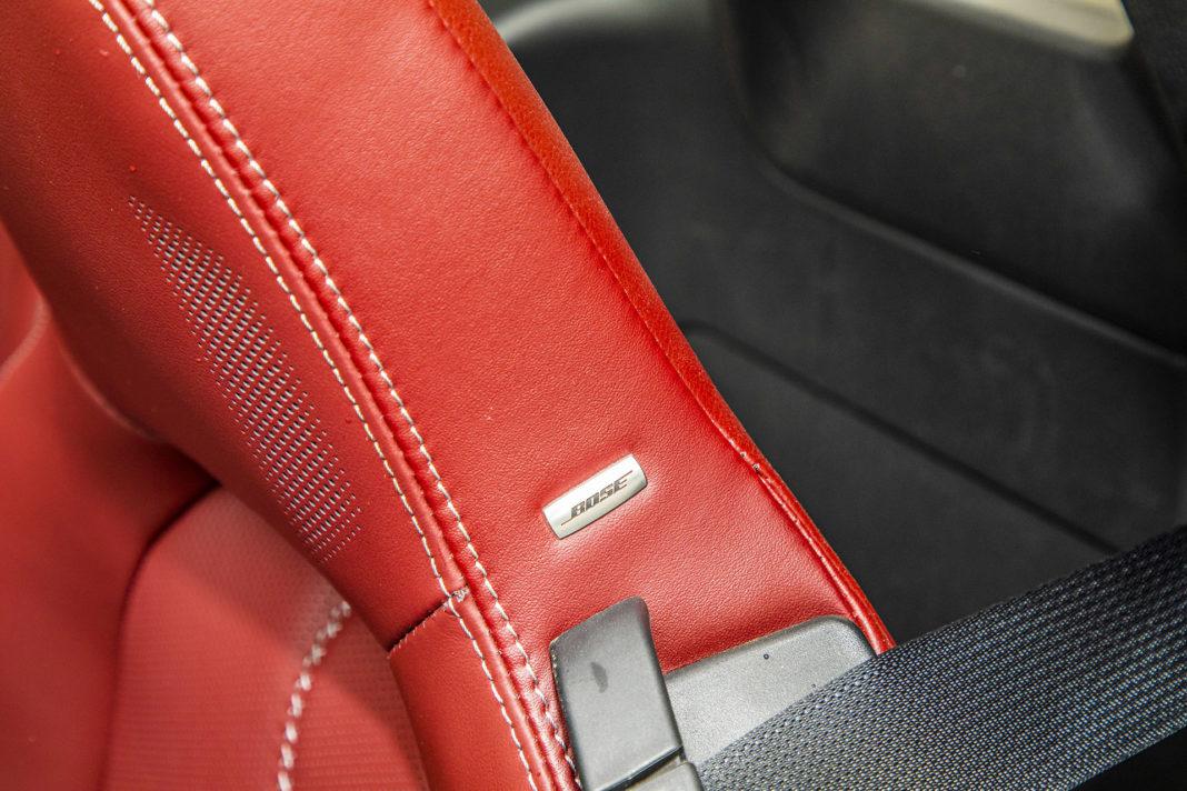 Mazda MX-5 RF - głośnik w zagłówku