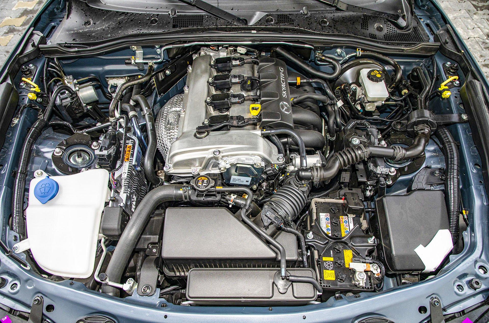 Mazda MX-5 RF - silnik