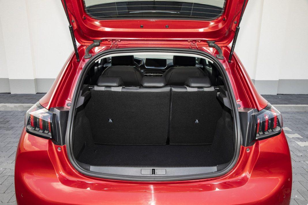 Peugeot 208 1.2 PureTech 100 - bagażnik