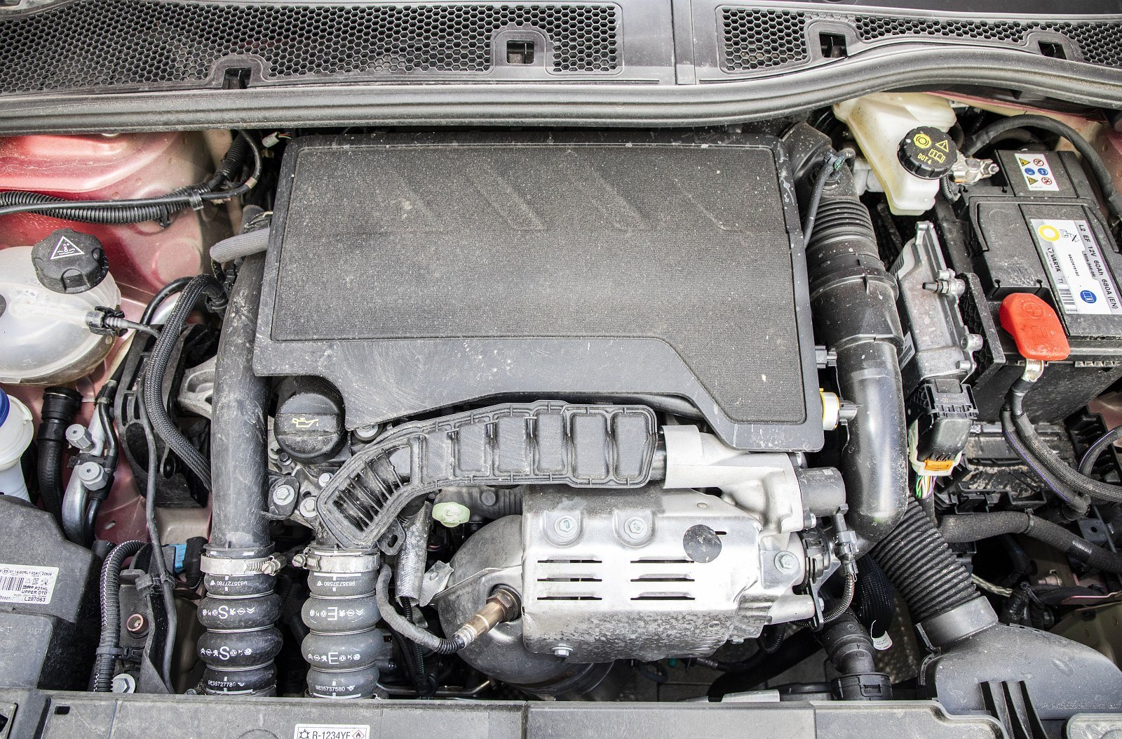 Peugeot 208 1.2 PureTech 100 - silnik