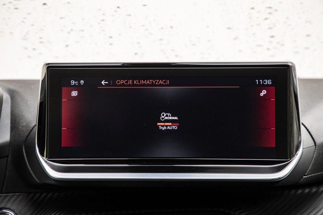 Peugeot 208 1.2 PureTech 100 - tryby klimatyzacji
