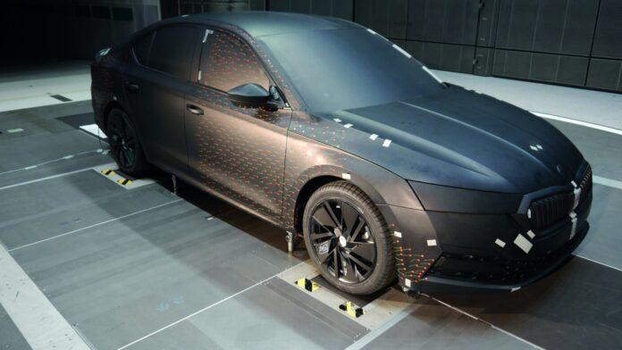 Skoda Octavia aerodynamika 01