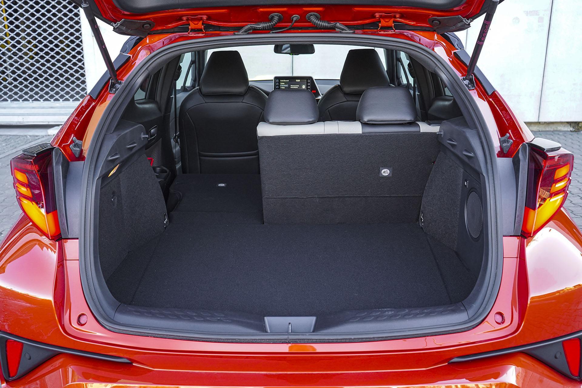 Toyota C-HR - bagażnik