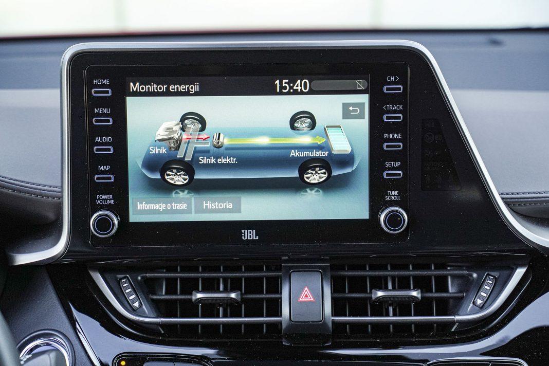 Toyota C-HR - ekran2