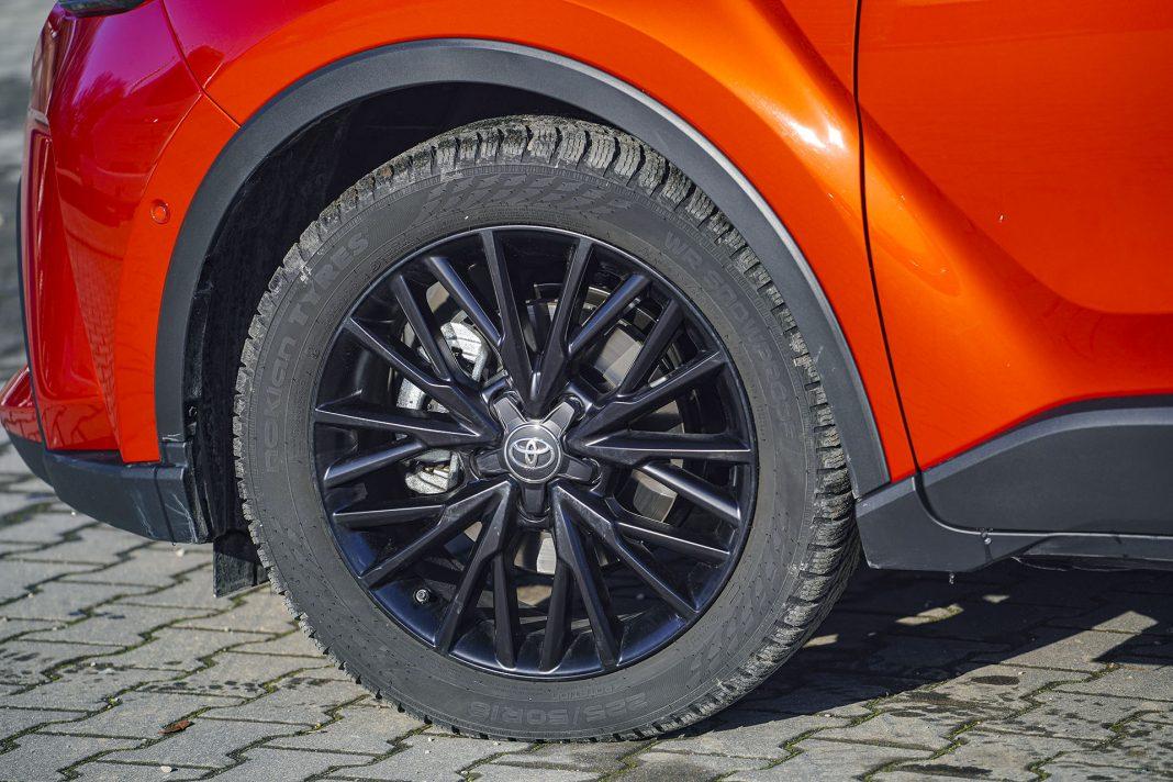 Toyota C-HR - koło