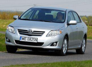 Używana Toyota Corolla X (2007-2013) - opinie, dane techniczne, usterki