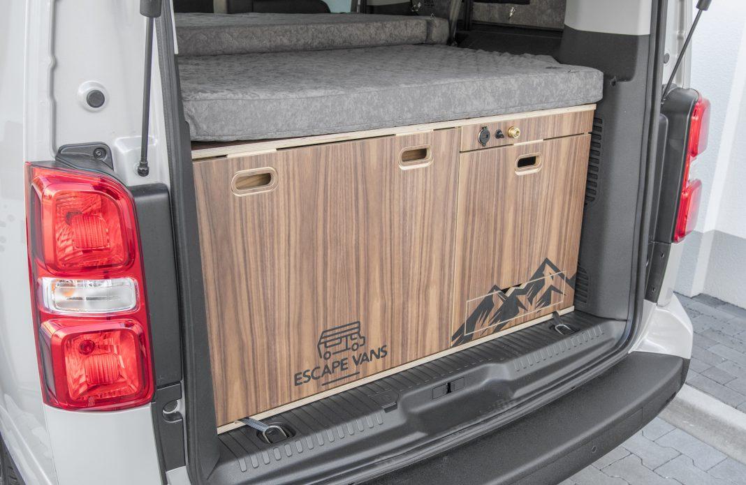 Toyota Proace - moduł kempingowy Escape Box