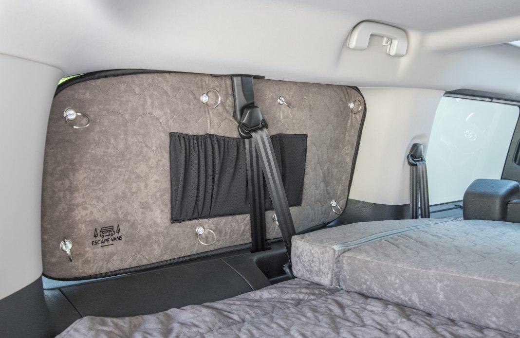 Toyota Proace - zaslony na szyby