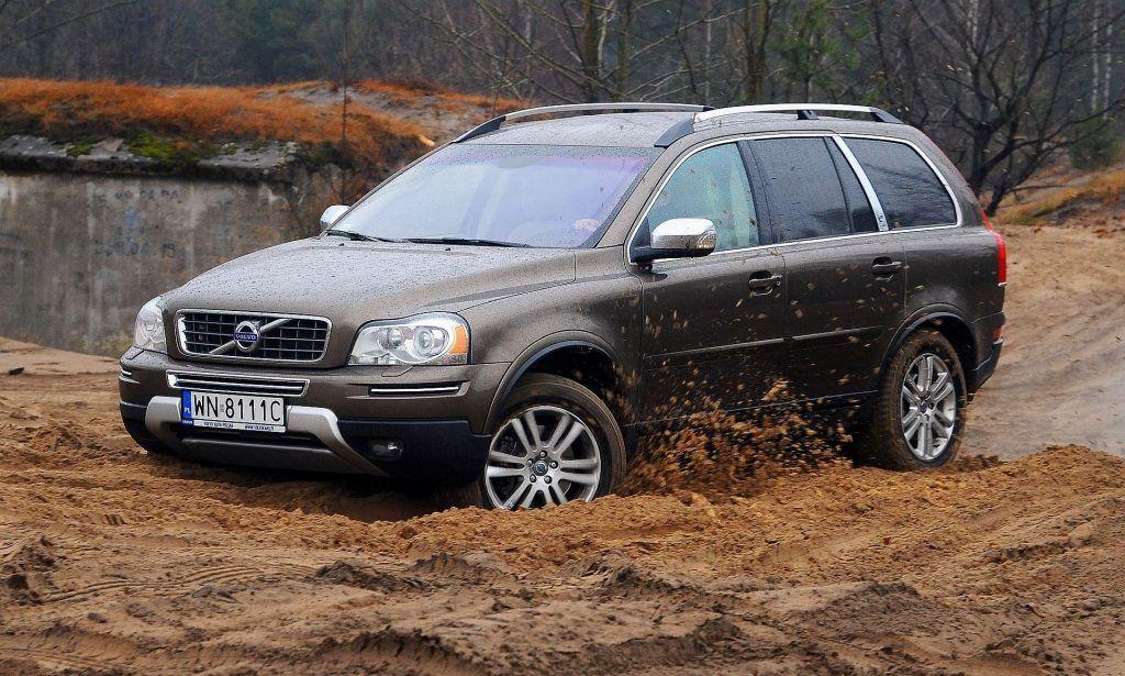 VOLVO XC90 I FL D5 2.4d 200KM 6AT AWD WN8111C 12-2011