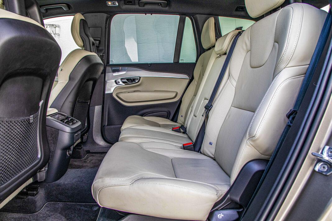 Volvo XC90 - drugi rząd
