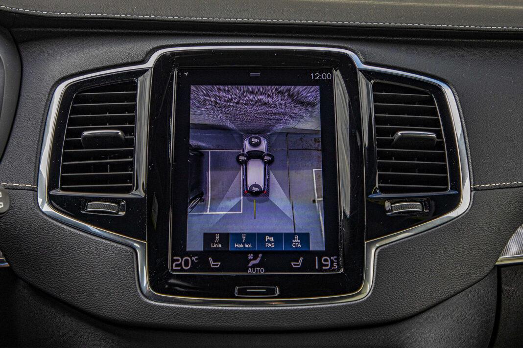 Volvo XC90 - kamery 360 stopni