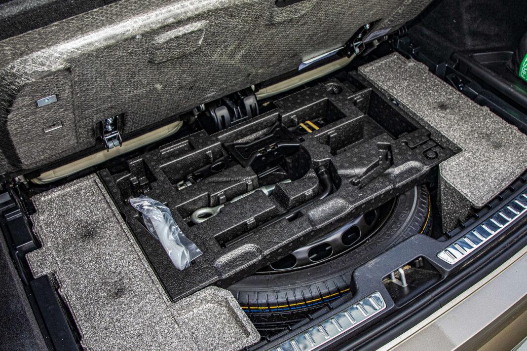 Volvo XC90 - koło zapasowe