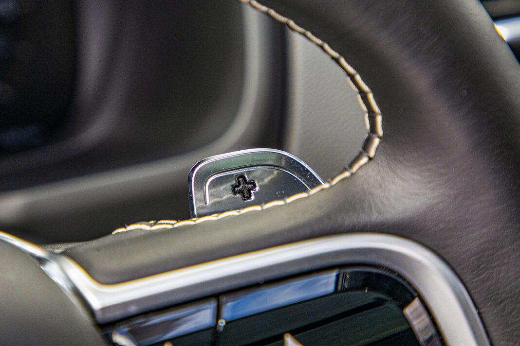 Volvo XC90 - łopatki