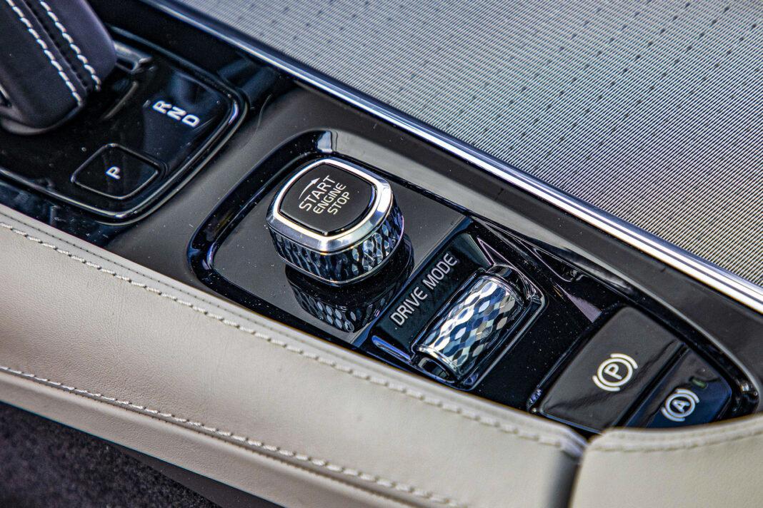 Volvo XC90 - pokrętła