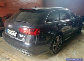 Ukradli Audi za ponad 200 000 zł. Wpadli kilka godzin później