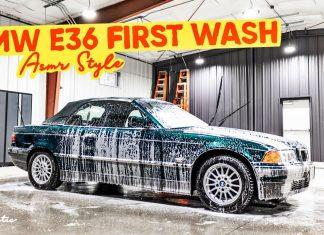 Detailing zaniedbanego BMW E36. Efekt końcowy robi wrażenie