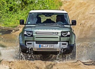 Land Rover Defender z silnikiem V8. Testy trwają