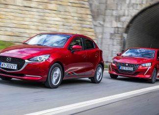 Mazda 2 1.5 Skyactiv-G M Hybrid, Peugeot 208 1.2 PureTech 100 - PORÓWNANIE