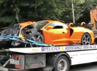 Były kierowca F1 rozbił unikatowego McLarena Senna