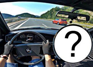 Ile wyciągnie 72-konny Mercedes 190D na autostradzie?