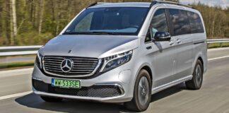 Mercedes EQV - przód