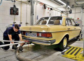 Stary Mercedes W123 nie truje bardziej od nowych turbodiesli?