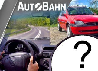54-konna Corsa na autostradzie. Czy mały Opel da radę?