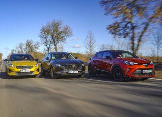 Kia XCeed, Mazda CX-30, Toyota C-HR – PORÓWNANIE