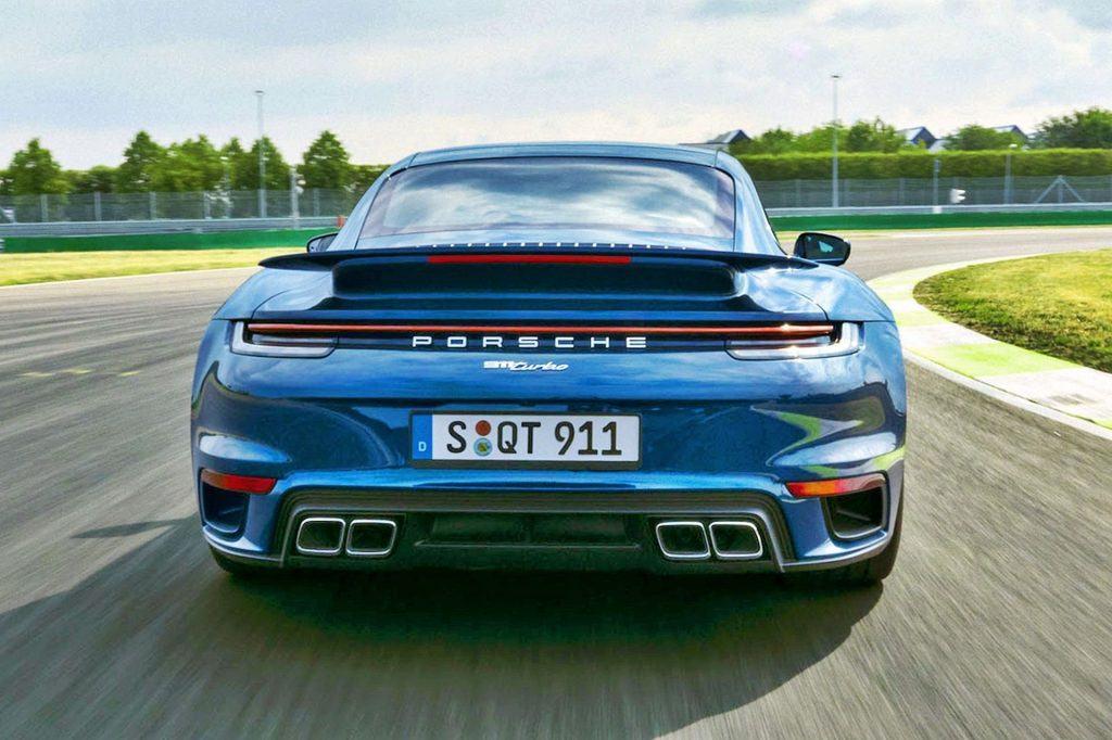 Porsche 911 Turbo (2020)