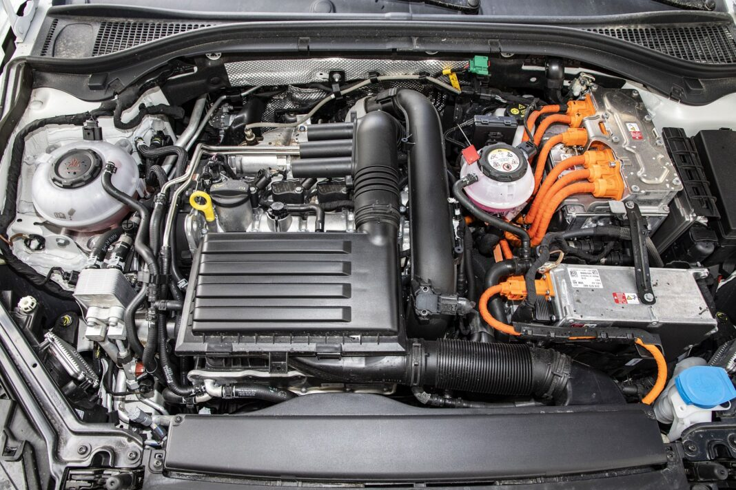 Skoda Superb iV - silnik